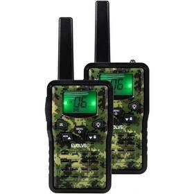 Vysílačky Evolveo FreeTalk 2W (FT-2W) černá/zelená