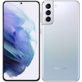 Mobilní telefon Samsung Galaxy S21+ 5G 256 GB (SM-G996BZSGEUE) stříbrný