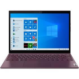 Notebook Lenovo Yoga Duet 7 13IML05 - ZÁNOVNÍ - 12 měsíců záruka fialový