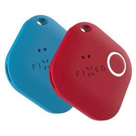 Klíčenka FIXED Smile PRO, Duo Pack (FIXSM-SMP-BLRD) červená/modrá