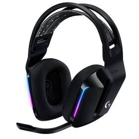 Headset Logitech G733 Lightspeed Wireless RGB (981-000864) černý