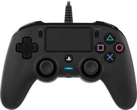 Gamepad Nacon Wired Compact Controller pro PS4 (ps4hwnaconwccb) černý