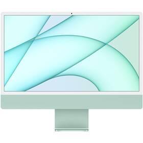 "Počítač All In One Apple iMac 24"" M1 8x GPU, 8GB, 512GB, CZ - Green (MGPJ3CZ/A)"