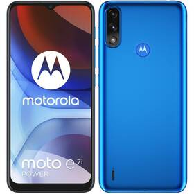 Mobilní telefon Motorola Moto E7i Power - ZÁNOVNÍ - 12 měsíců záruka modrý