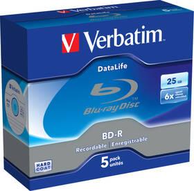 Disk Verbatim BD-R DL 25GB,6x, 5 ks (43836)