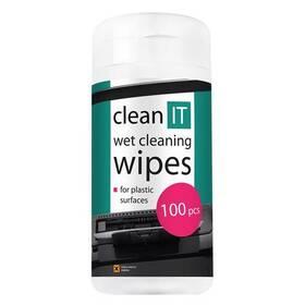 Čisticí sada Clean IT mokré na plasty, 100ks (CL-29)