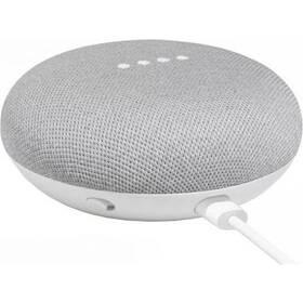 Hlasový asistent Google Home mini Chalk Repack bílý