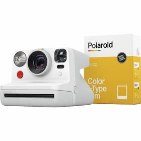 Digitální fotoaparát Polaroid Now a fotopapír bílý