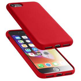 Kryt na mobil CellularLine SENSATION na Apple iPhone 8/7/SE (2020) (SENSATIONIPH747R) červený