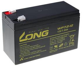 Olověný akumulátor Avacom Long 12V 7,2Ah F2 (WP7.2-12 F2) (PBLO-12V007,2-F2A)