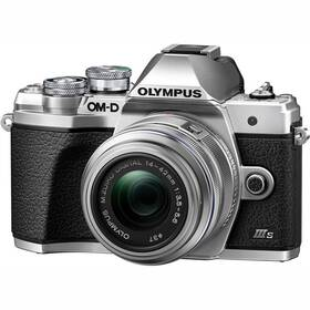 Digitální fotoaparát Olympus E-M10 III S 1442IIR Kit (V207111SE000) stříbrný
