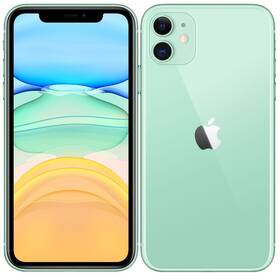 Mobilní telefon Apple iPhone 11 64 GB - Green (MHDG3CN/A)