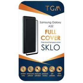 Tvrzené sklo TGM Full Cover na Samsung Galaxy A52 4G/5G (TGMFCSAMA52) černé