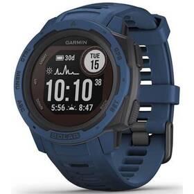 GPS hodinky Garmin Instinct Solar Optic - ZÁNOVNÍ - 12 měsíců záruka modrá