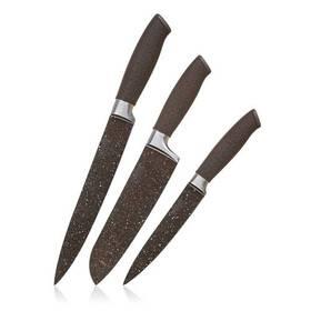 Sada kuchyňských nožů Banquet Premium Dark Brown