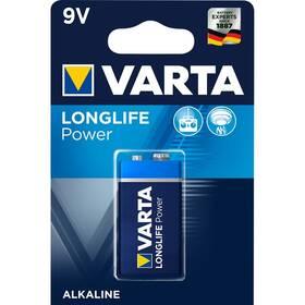 Baterie alkalická Varta Longlife Power 9V, 6LP3146, blistr 1ks (4922121411)
