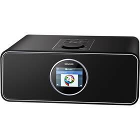 Internetový radiopřijímač Sencor SIR 6000WDB černý