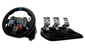 Volant Logitech G29 Driving Force pro PS3, PS4, PC + pedály (941-000112) černý