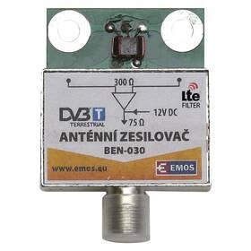 Zesilovač EMOS anténní předzesilovač 30dB VHF/UHF (2507100700)