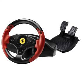 Volant Thrustmaster Ferrari Red Legend pro PC, PS3 + pedály (4060052) černý