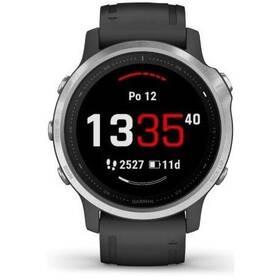 GPS hodinky Garmin fenix6S Glass (010-02159-01) černé/stříbrné
