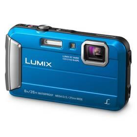 Digitální fotoaparát Panasonic Lumix DMC-FT30EP-A modrý