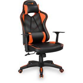 Herní židle Connect IT LeMans Pro (CGC-0700-OR) černá/oranžová