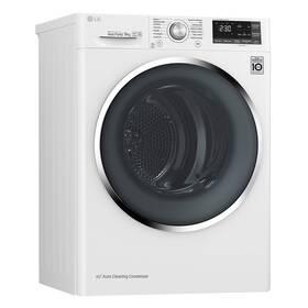 Sušička prádla LG RC91U2AV2W bílá + LG 10 let záruka na motor/kompresor