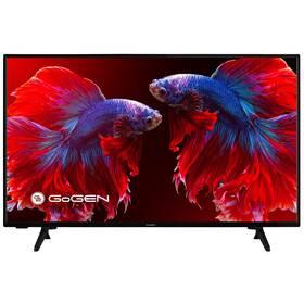 Televize GoGEN TVF 40P750T černá + GoGEN záruka 40 měsíců