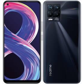 Mobilní telefon realme 8 Pro 6/128 GB - Punk Black (RMX3081PBK6)