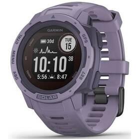 GPS hodinky Garmin Instinct Solar Optic (010-02293-02) fialová
