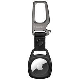 Pouzdro Spigen Rugged Armor pro Apple AirTag (AMP01565) černé