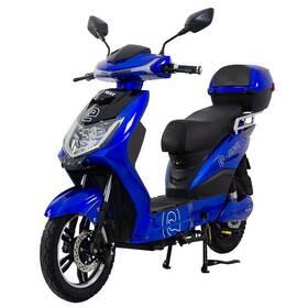 Elektrická motorka RACCEWAY E-FICHTL modrý