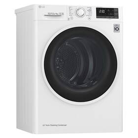 Sušička prádla LG RC82EU2AV4Q bílá + LG 10 let záruka na motor/kompresor