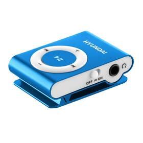 MP3 přehrávač Hyundai MP213BU modrý