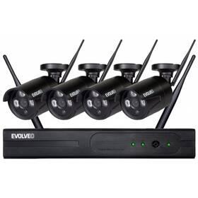 Kamerový systém Evolveo Detective WN8, bezdrátový NVR (DETECTIVE WN8) černá