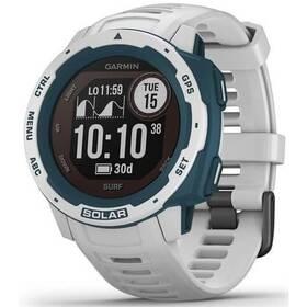 GPS hodinky Garmin Instinct Solar Surf Optic (010-02293-08) bílá