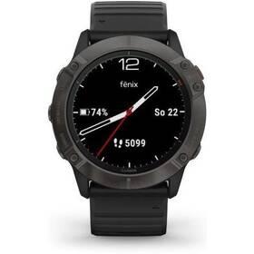 GPS hodinky Garmin fenix6X PRO Solar (MAP/Music) (010-02157-21) černé/titanium