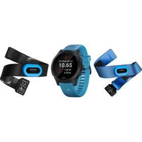 GPS hodinky Garmin Forerunner 945 PRO Optic TRI bundle (010-02063-11) modré