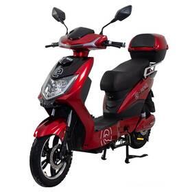 Elektrická motorka RACCEWAY RACCEWAY E-FICHTL červený