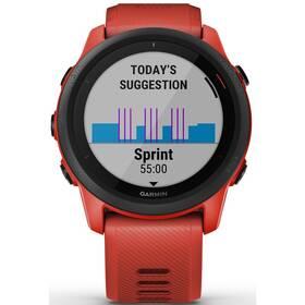 GPS hodinky Garmin Forerunner 745 (010-02445-12) červené