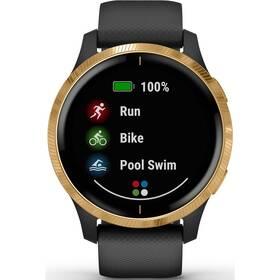 GPS hodinky Garmin Venu Gold/Black (010-02173-33)