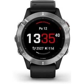 GPS hodinky Garmin fenix6 Glass (010-02158-00) černé/stříbrné