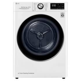 Sušička prádla LG RC91V9AV2W bílá + LG 10 let záruka na motor/kompresor