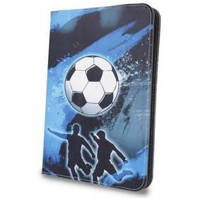"""Pouzdro na tablet flipové GreenGo Football na tablet 7-8"""" (GSM041320)"""