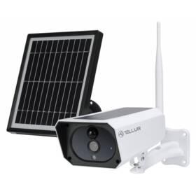 IP kamera Tellur WiFi Smart solární 1080p, outdoor (TLL331231) bílá
