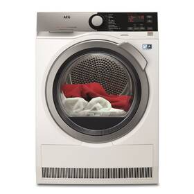Sušička prádla AEG AbsoluteCare® T8DEE68SC bílá + AEG 10 let záruka na invertor motor