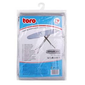 Potah na žehlicí prkno TORO 120x45 cm