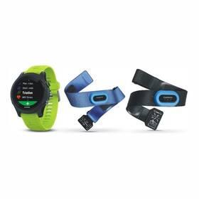 GPS hodinky Garmin Forerunner 935 TRI Bundle (010-01746-06) černé/zelené