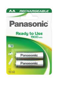 Baterie nabíjecí Panasonic Evolta AA, HR6, 1900mAh, Ni-MH, blistr 2ks (HHR-3MVE/2BP)